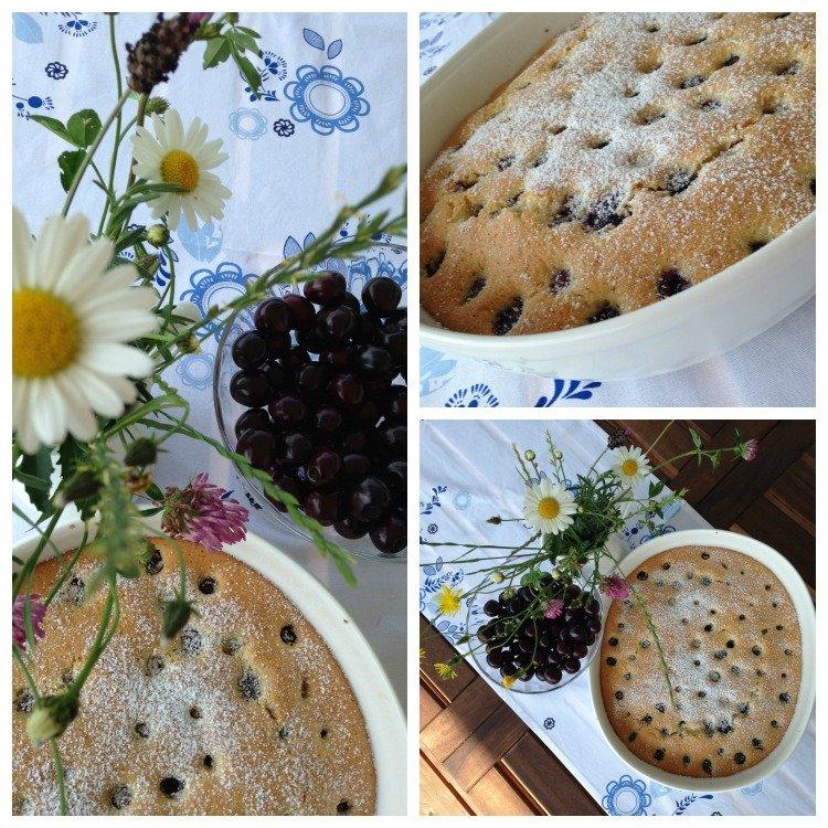 Kirschkuchen - Blechkuchen www.jubeltage.at