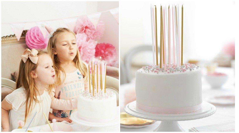 Torte, Kerzen ausblasen